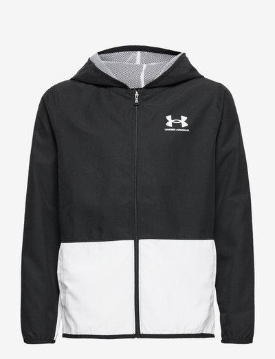 UA Woven Track Jacket - sweatshirts - black