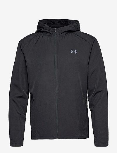 UA OutRun the Rain Jacket - jakker og regnjakker - black