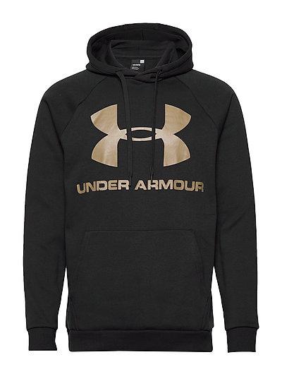 Rival Fleece Sportstyle Logo Hoodie (Black) (499 kr) Under Armour |