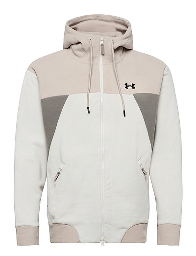 Ua Recover Fleece Fz Hoodie Sweat-shirts & Hoodies Fleeces & Midlayers Weiß UNDER ARMOUR | UNDER ARMOUR SALE