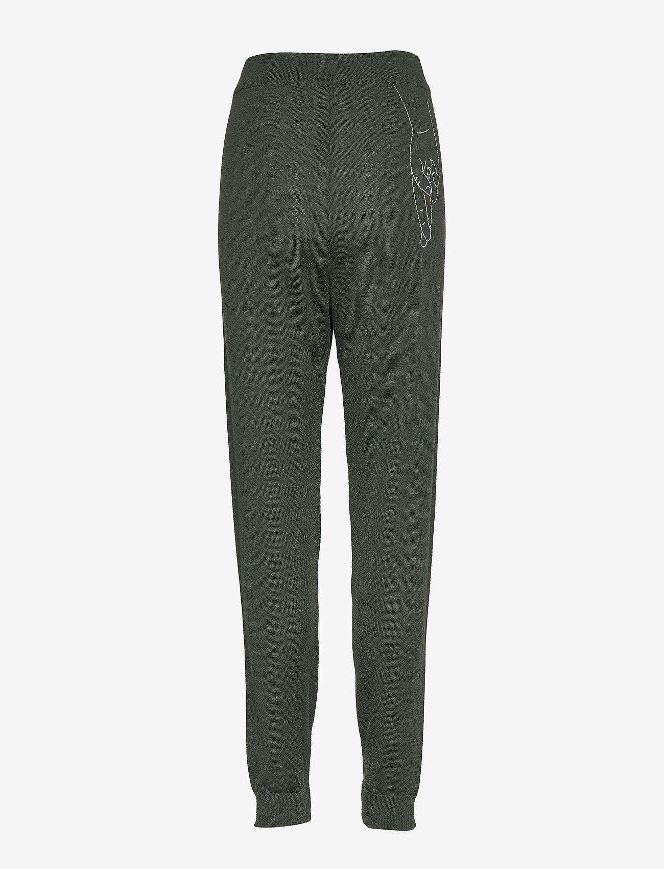 Underprotection - kimmie pants - spodnie dresowe - green - 1