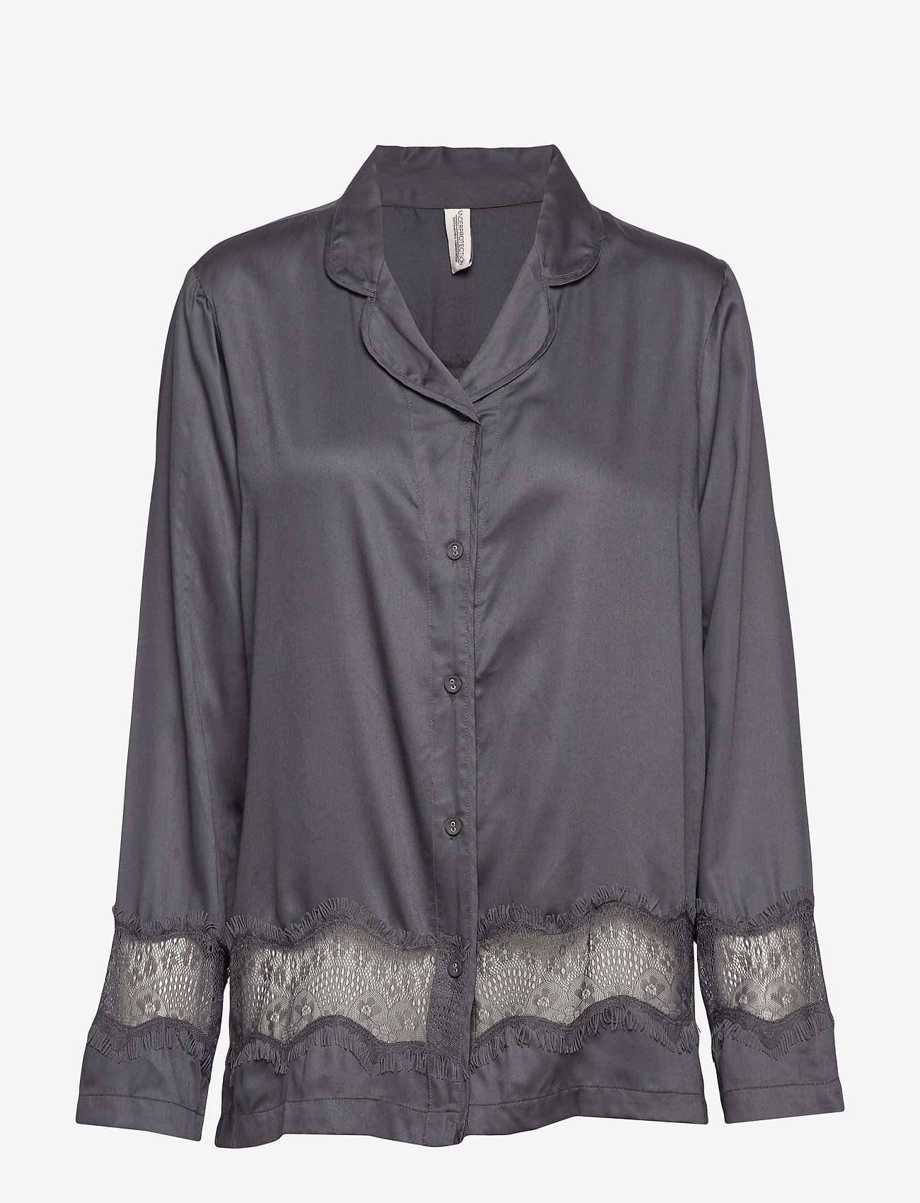 Underprotection - lulu shirt - Överdelar - grey - 0