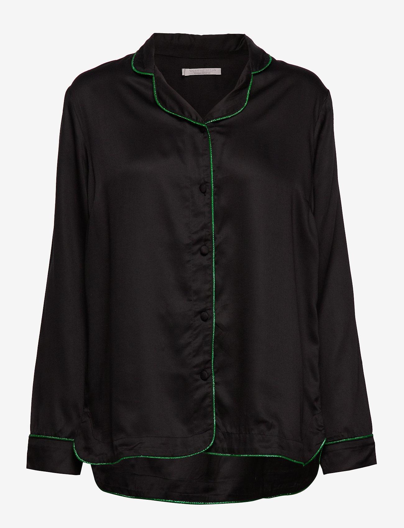Underprotection - lisa shirt - Överdelar - black - 0