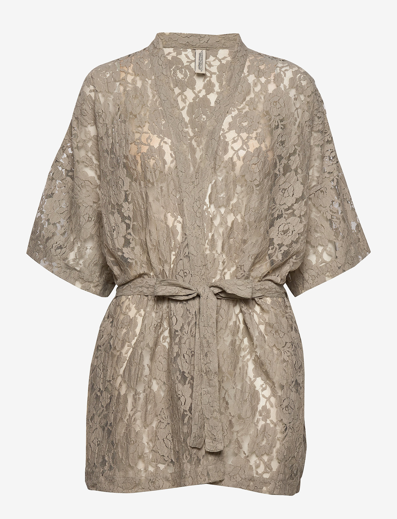Underprotection - KIRA KIMINO GREY - bathrobes - grey - 0