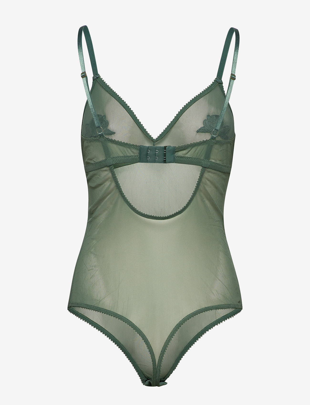Underprotection - Heather body - bodies & slips - aqua - 1
