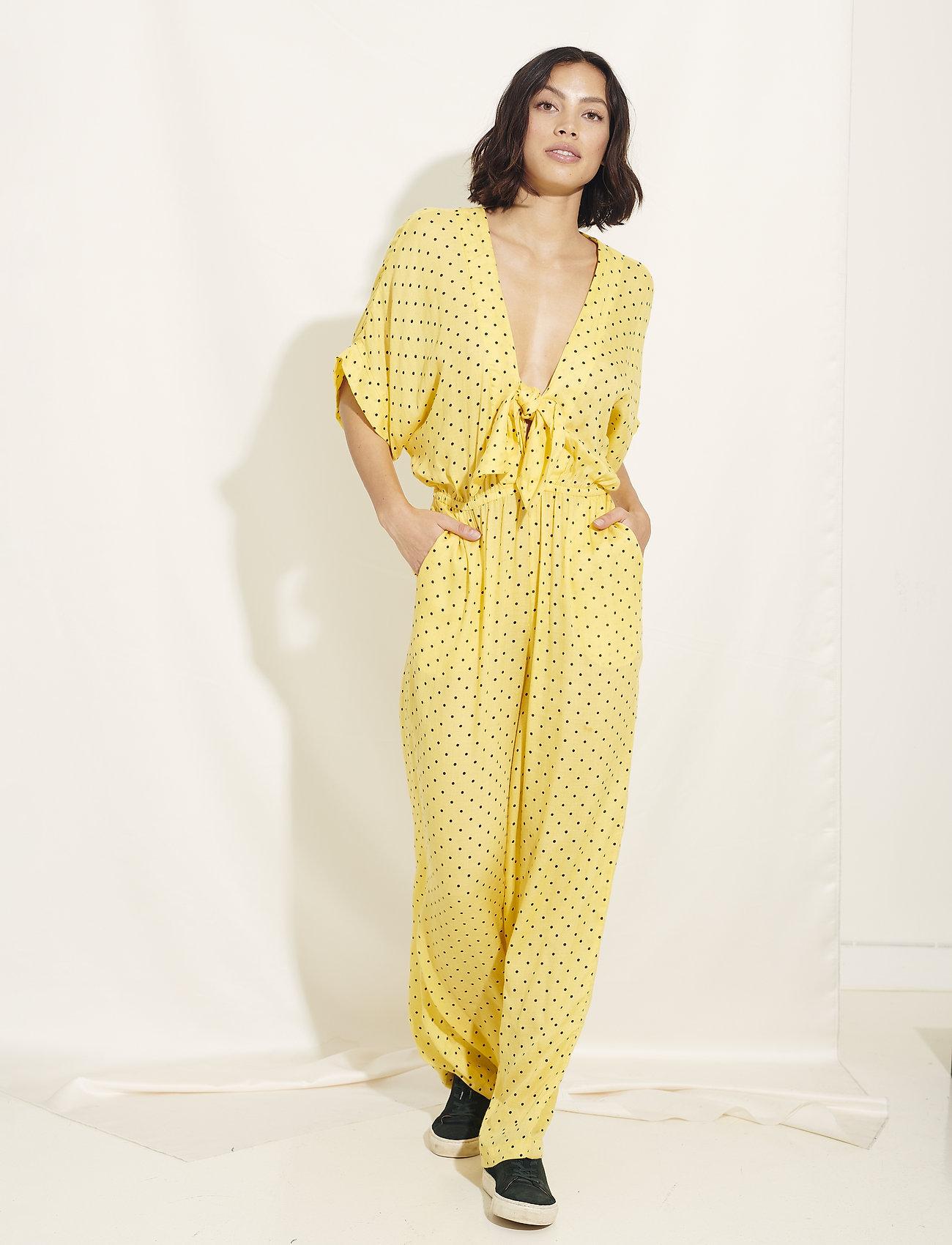 Underprotection - Donna jumpsuit - jumpsuits - yellow