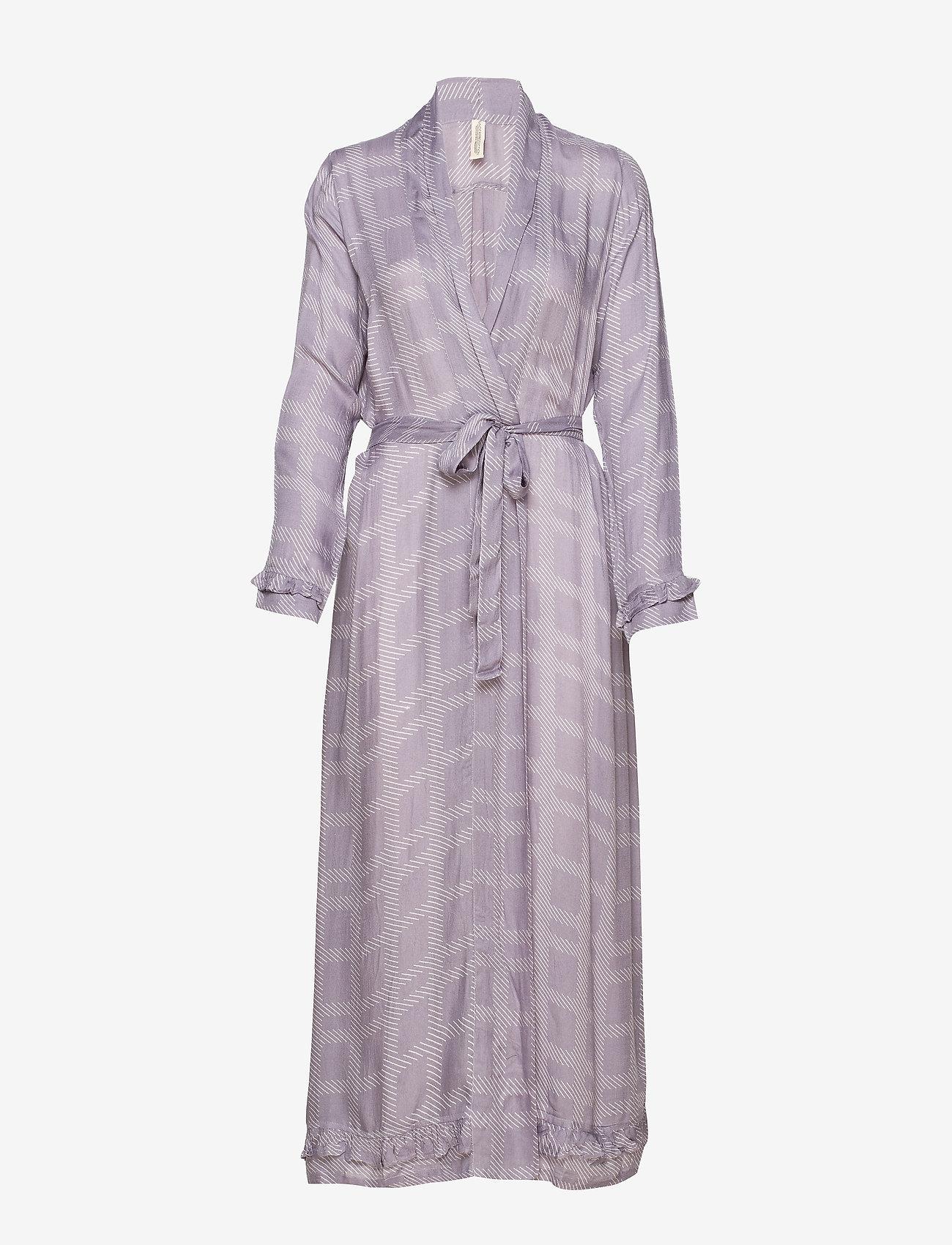 Underprotection - Terry robe - bathrobes - purple - 0
