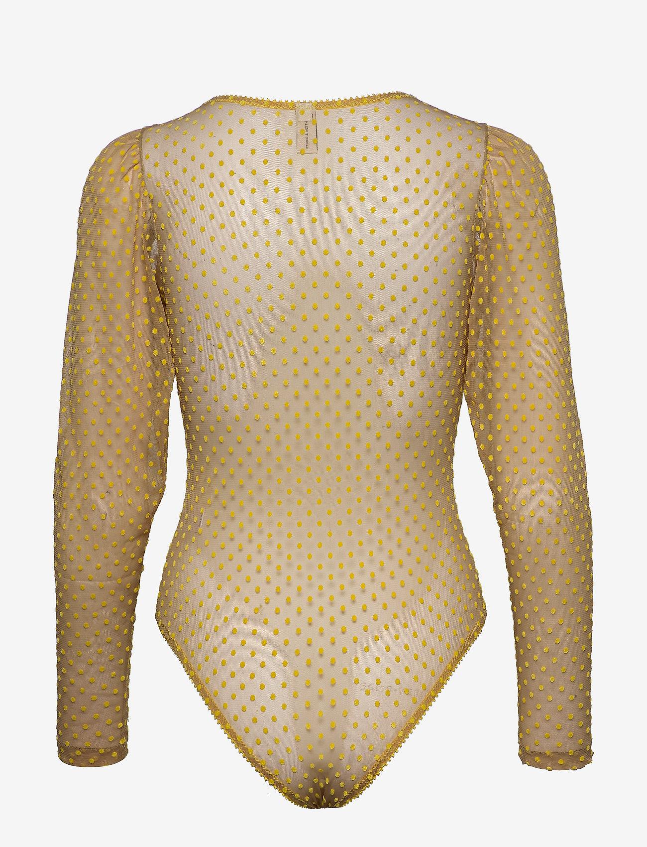 Underprotection - Donna bodystocking - bodies & slips - yellow - 1