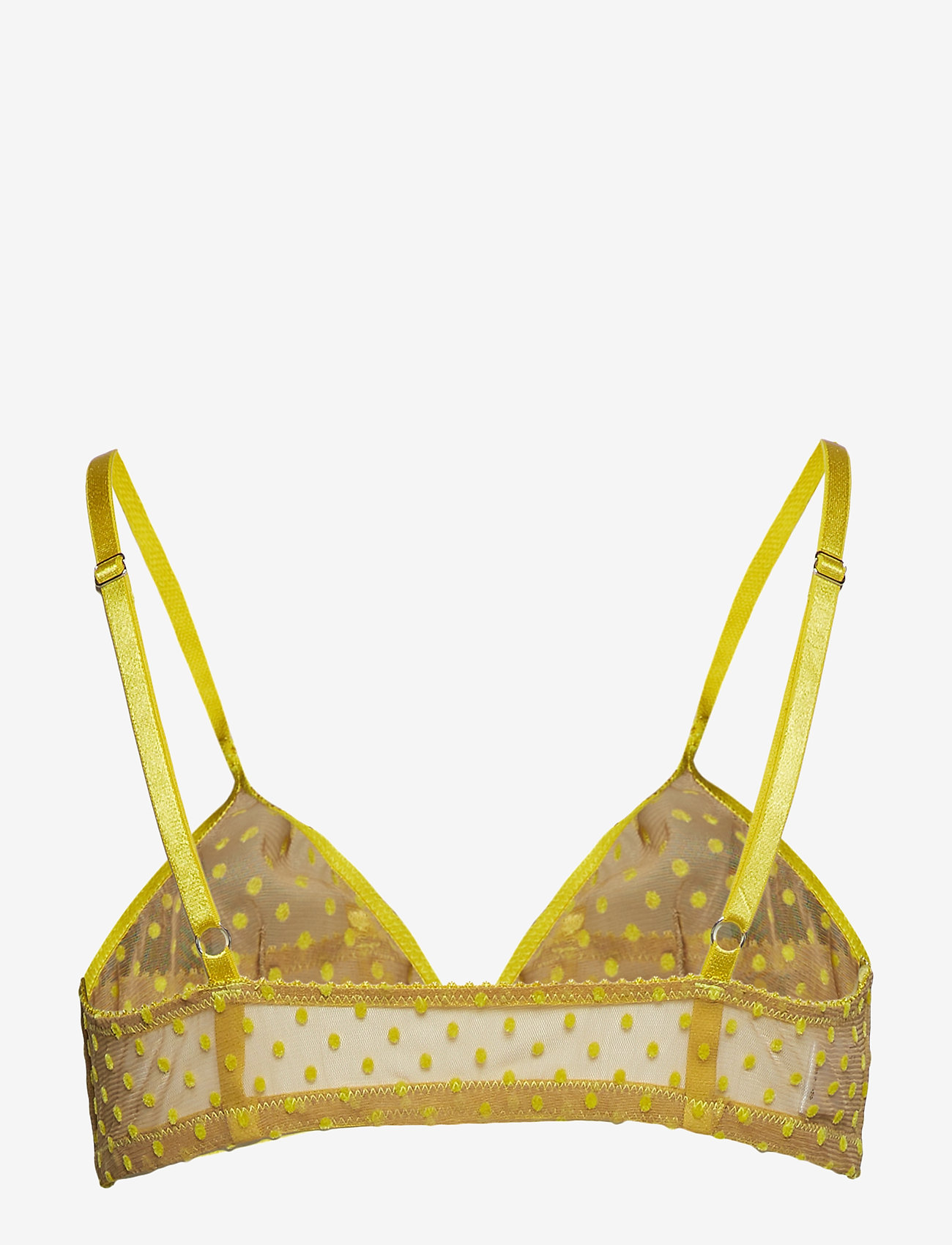 Underprotection - Donna bra - bra without wire - yellow