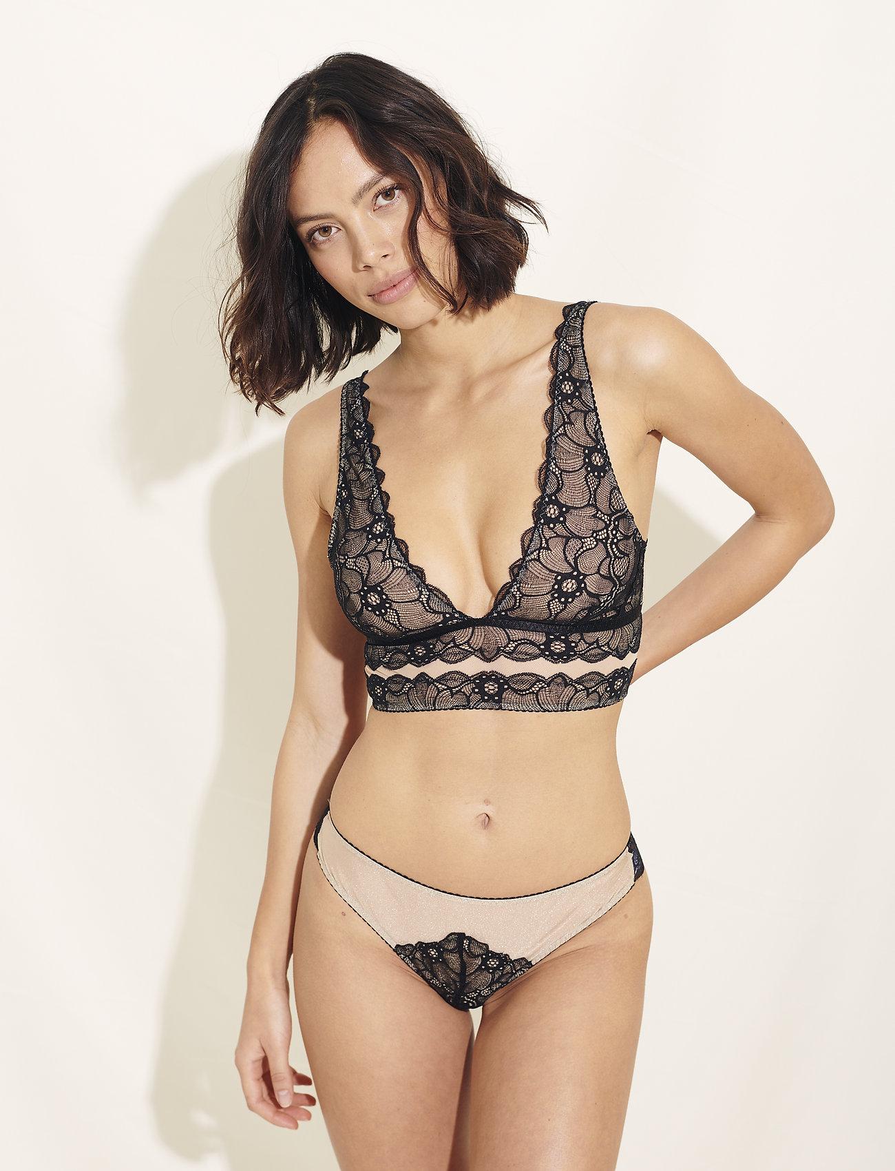 Underprotection - Victoria bralette - bralette & corset - black