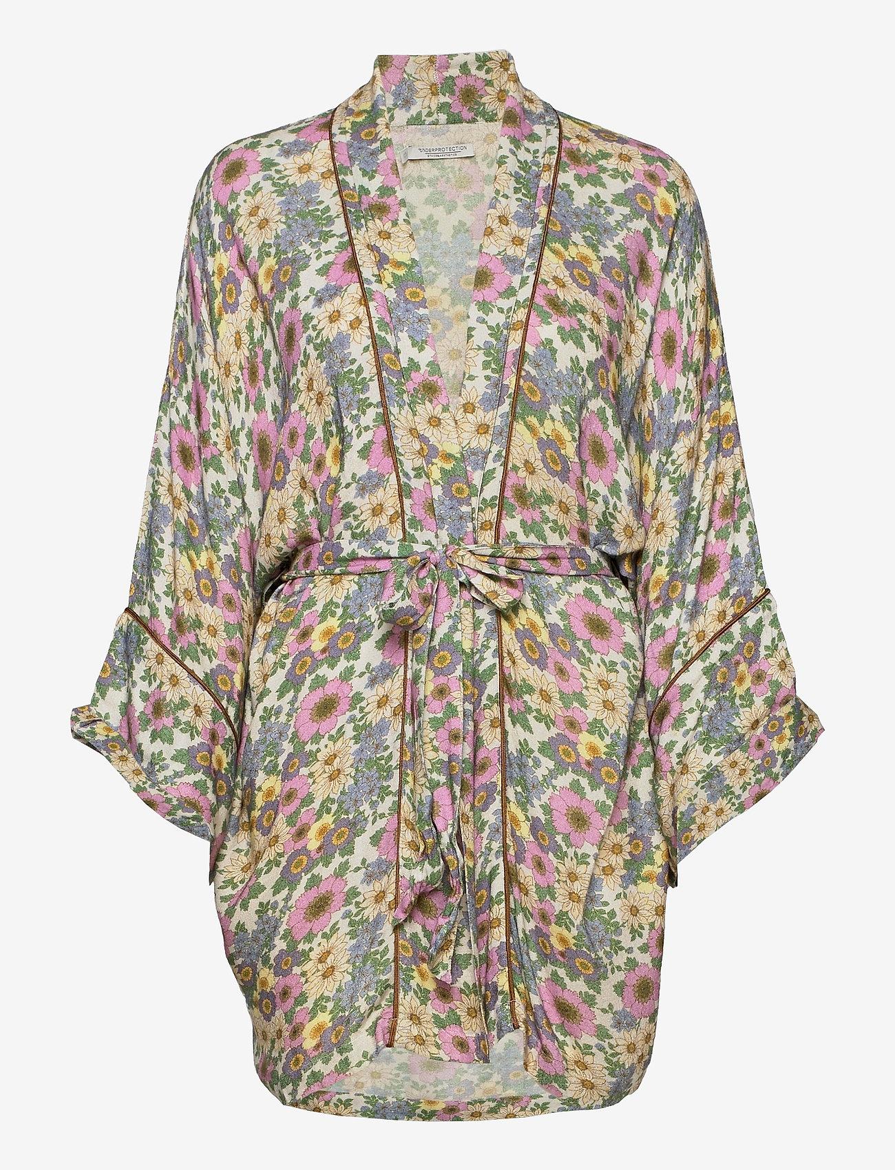 Underprotection - Rania kimono - pegnoirs - purple - 1