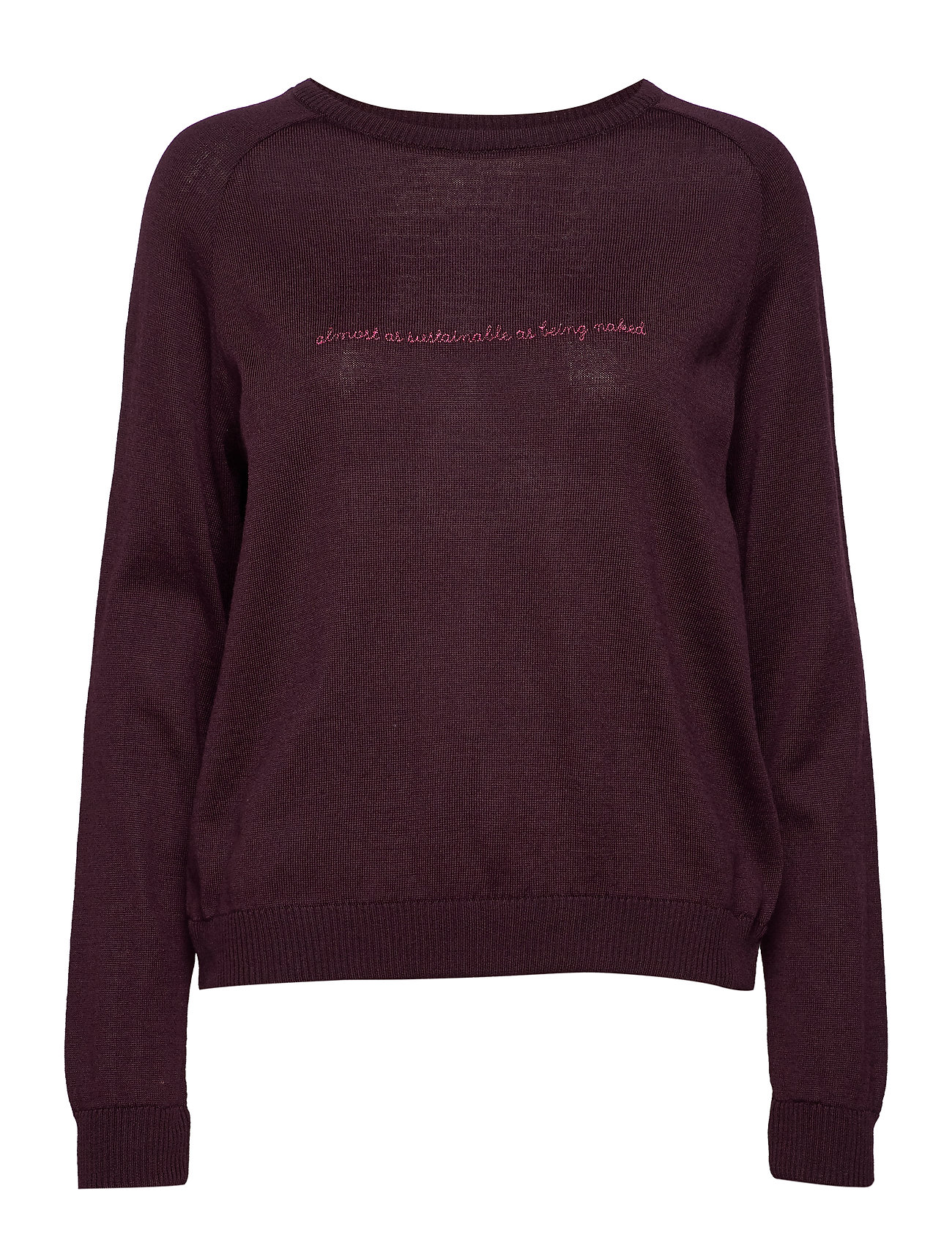 Underprotection Kimmie Sweater Top Röd Underprotection