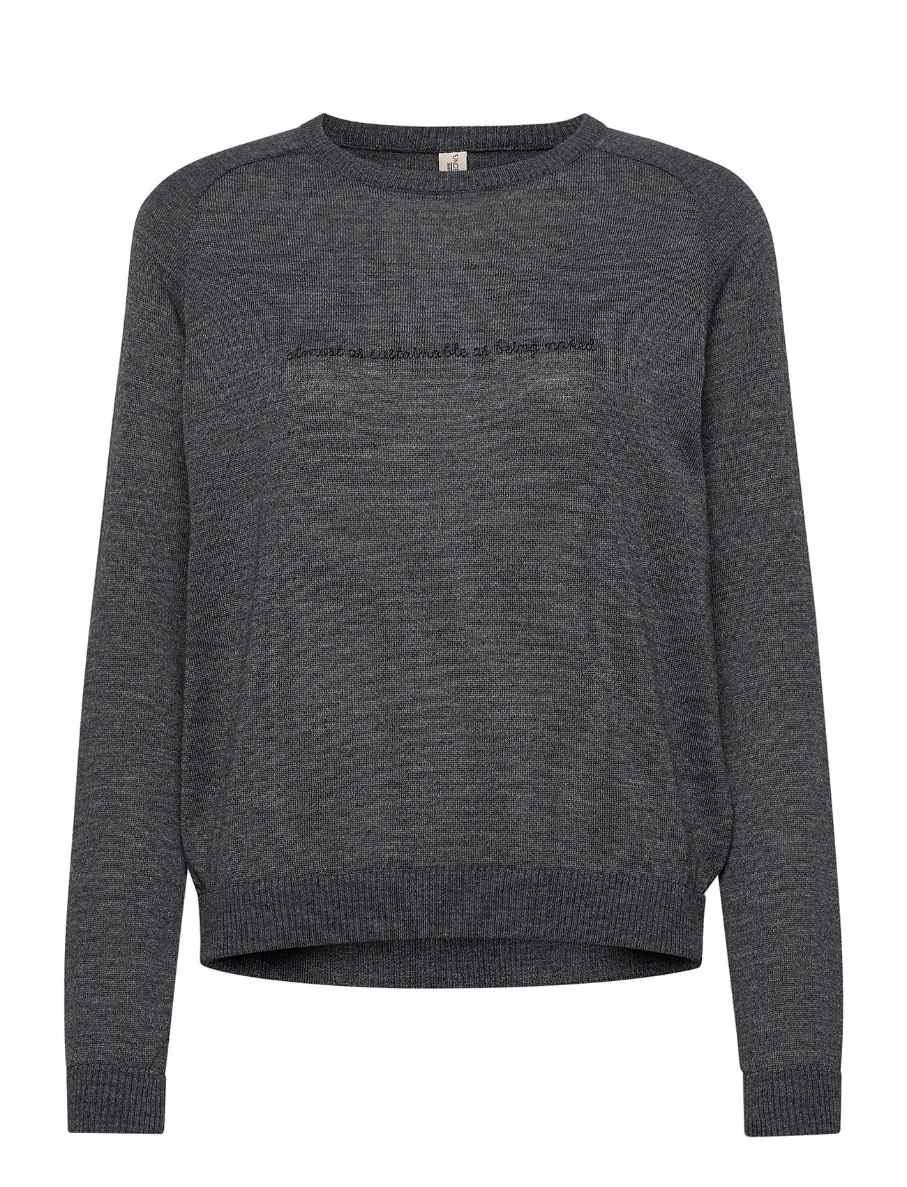 Underprotection Kimmie Sweater Top Grå Underprotection