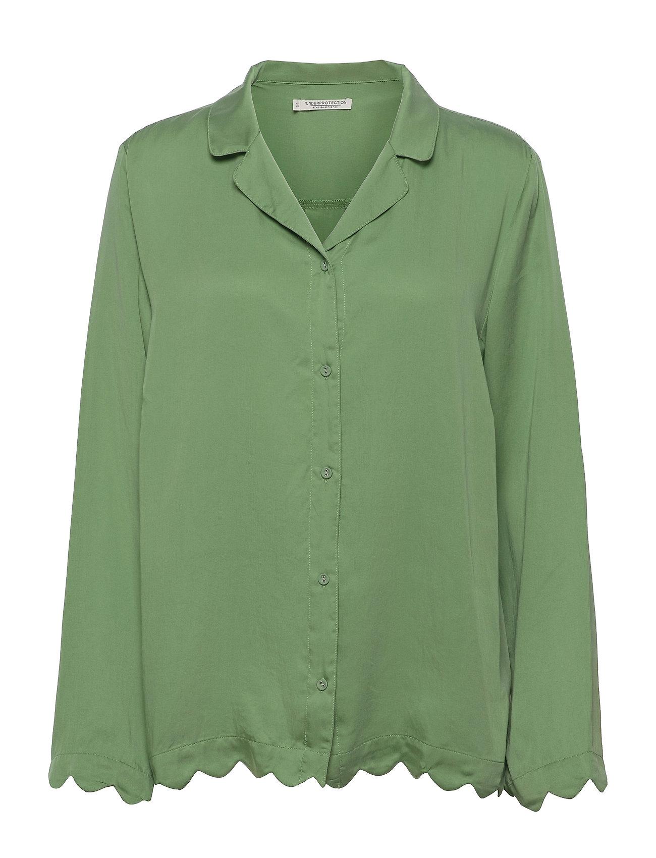 Jane Shirt Top Grøn Underprotection