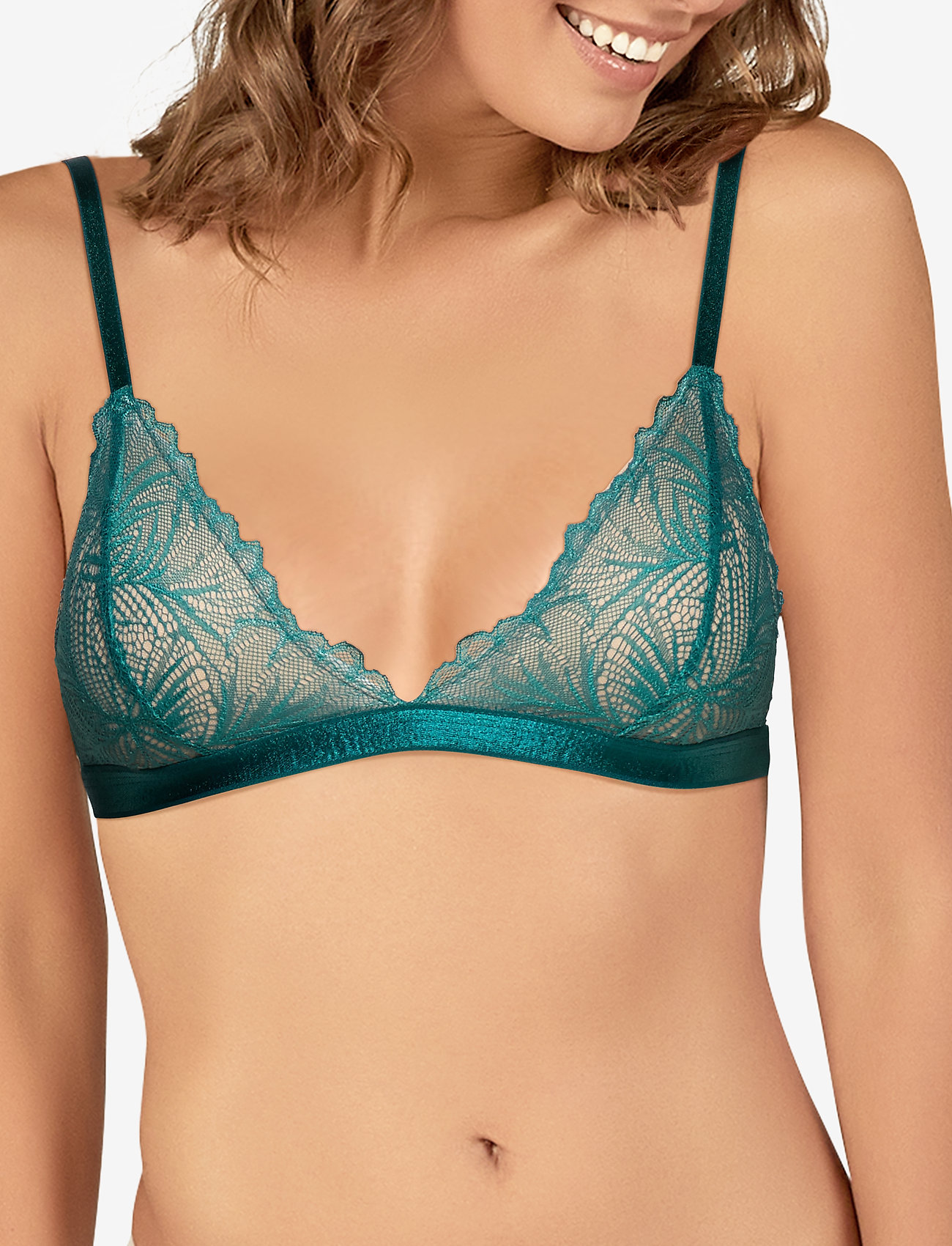 Underprotection lima bra - TURQUISE