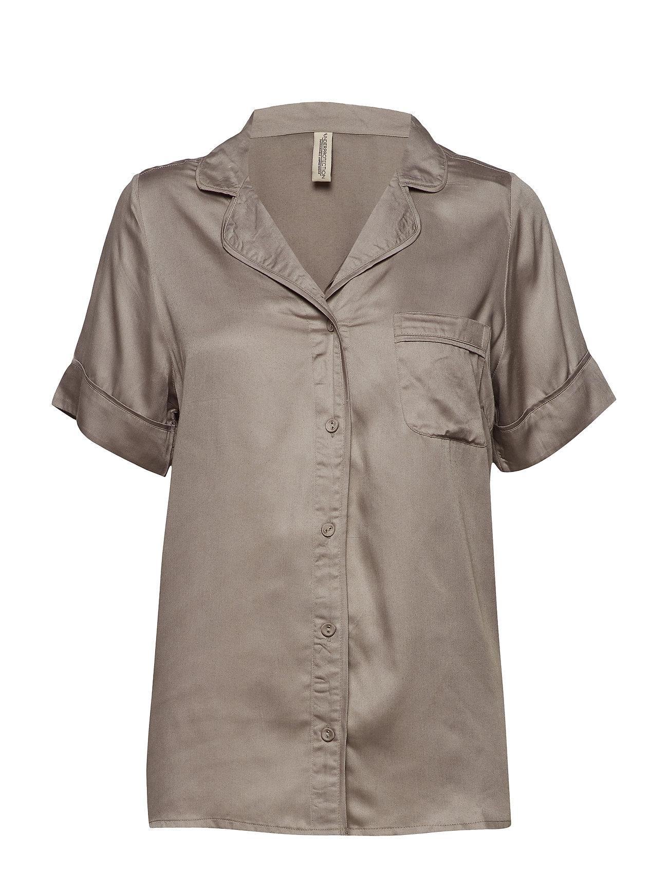 Underprotection Rana short shirt - GREY