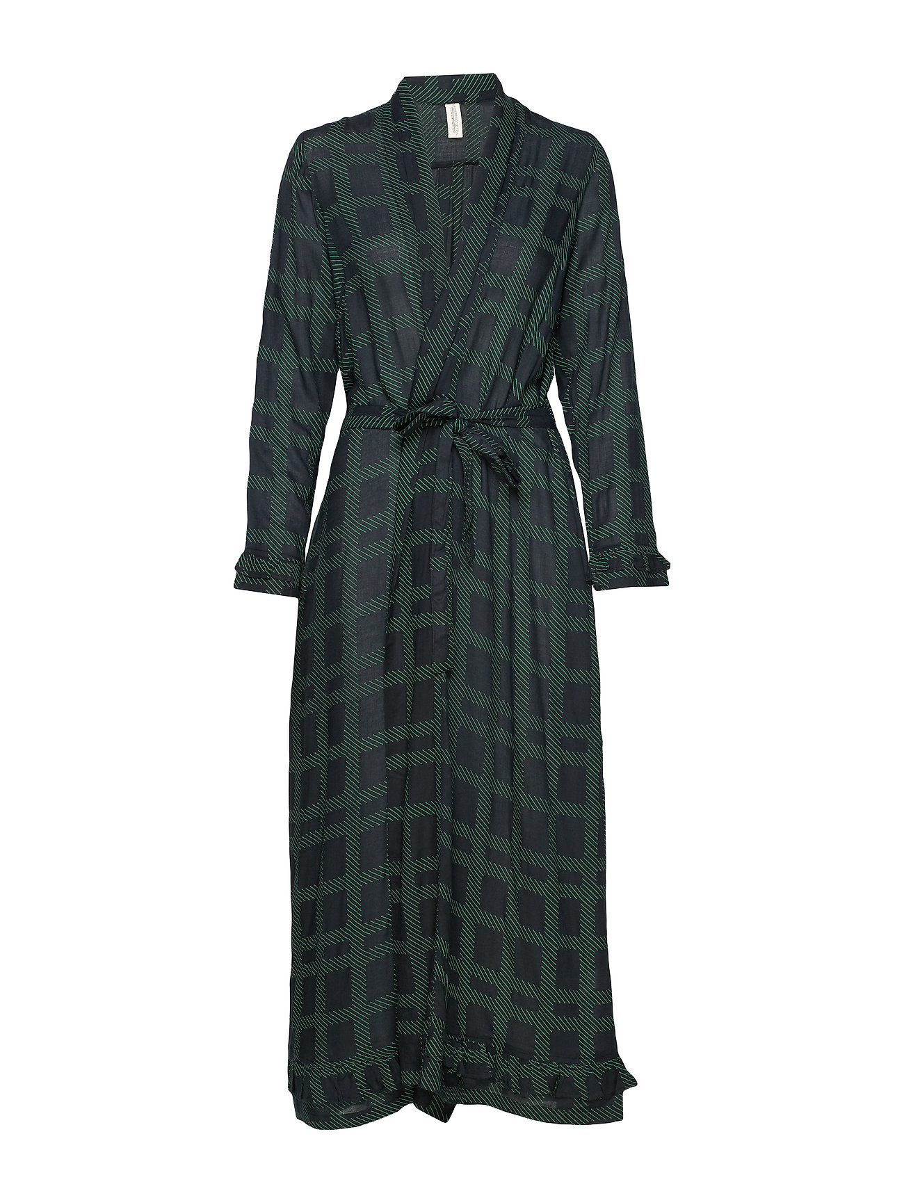 Underprotection Terry robe - BLACK