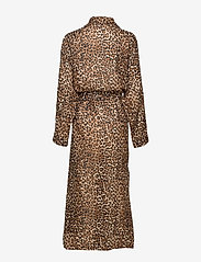 Underprotection - Leonora robe - bathrobes - brown - 1