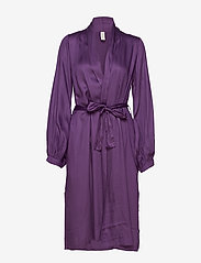 Underprotection - Isabel robe - bathrobes - purple - 0