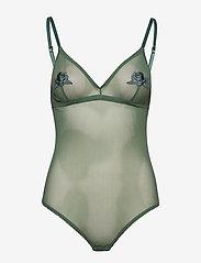 Underprotection - Heather body - bodies & slips - aqua - 0