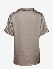 Underprotection - Rana short shirt - Överdelar - grey - 2