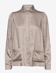Underprotection - Rana shirt - Överdelar - grey - 0