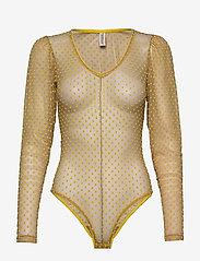 Underprotection - Donna bodystocking - bodies & slips - yellow - 0