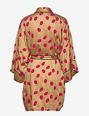 Underprotection - Lola kimono - bathrobes - camel - 1