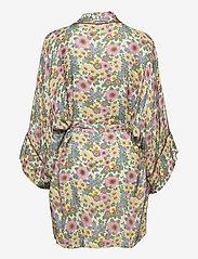 Underprotection - Rania kimono - pegnoirs - purple - 2