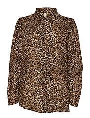 Leonora shirt - BROWN
