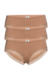 Bea hipsters 3 pack - TAN