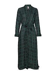 Terry robe - BLACK