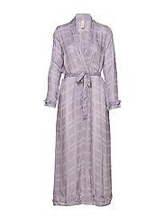 Terry robe - PURPLE