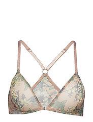 Melina triangle bra - NUDE