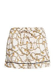 charlize shorts - WHITE
