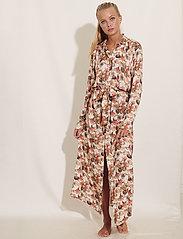 Underprotection - zenia robe - bathrobes - creme - 0