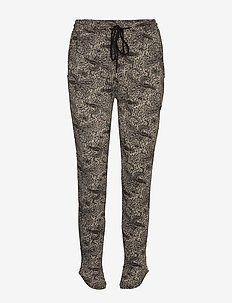 PETRA PANTS GREY - underdele - grey