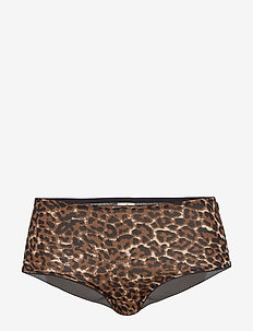 LEONORA HIPSTERS BROWN - hipster & hotpants - brown