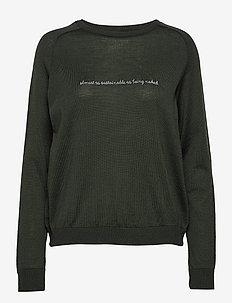kimmie sweater - GREEN