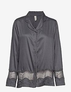 lulu shirt - góry - grey