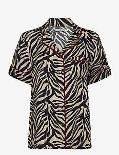 Rania short shirt - góry - creme
