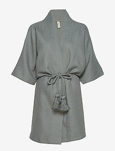 Gemma kimono - overdele - grey