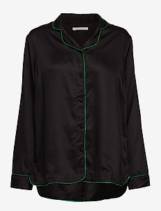 lisa shirt - BLACK