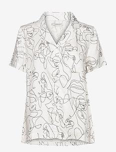 Fie short shirt - tops - white