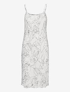 Fie slip - nightdresses - white