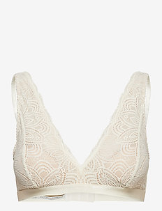 Luna high apex bra - soutien-gorge souple - white