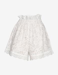 Zoe shorts - casual shorts - white
