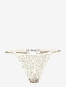 Luna string - stringi - white