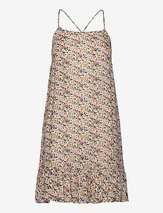 Stacy dress - sukienki do kolan i midi - creme