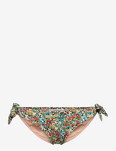 Bianca bikini briefs - side tie bikinier - beige